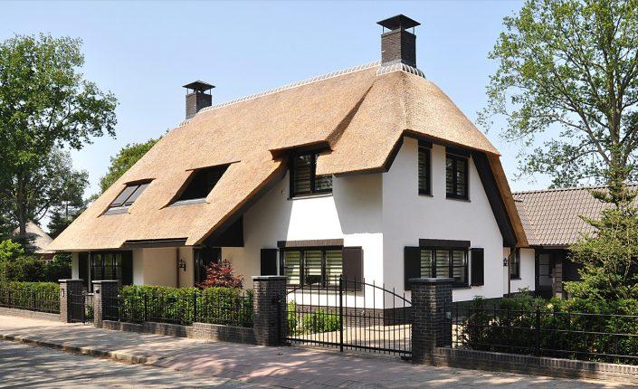 Leeflang architectuur |leeflang architect vorden |particulier Rietgedekte villa huizen 7