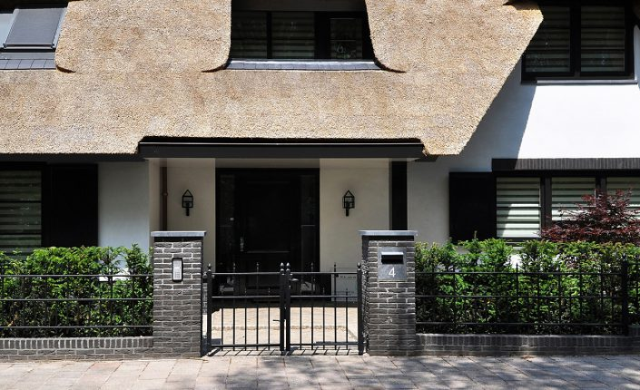 Leeflang architectuur |leeflang architect vorden |particulier Rietgedekte villa huizen 6