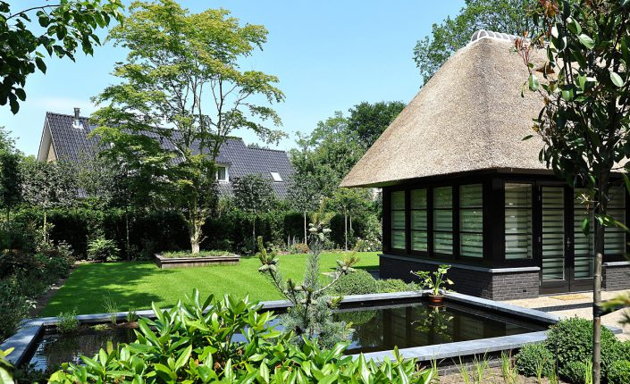Leeflang architectuur |leeflang architect vorden |particulier Rietgedekte villa huizen 5